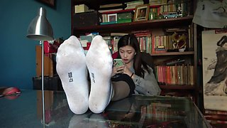 chinese foot show