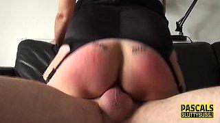 Kinky mature sub squirts