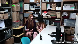 Stepmom and stepdaughter gets punished