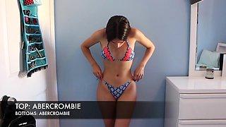 Milena m bikini try on haul guzata