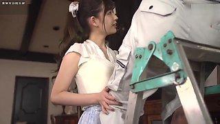 Japanese girl Akari-Tsumugi got fucked hard