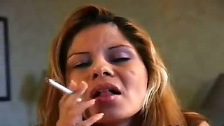Sexy Smoking Cocksucker