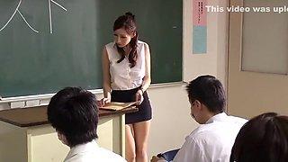 Horny Japanese chick Julia in Hottest POV, Cougar JAV movie