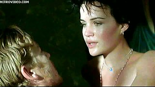 Breathtaking Italian Brunette Carla Gugino Gets a Wet and Wild Fuck
