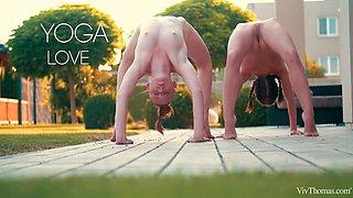 Yoga Love Episode 3 - Naked Passion - Linda Sweet & Nata - VivThomas