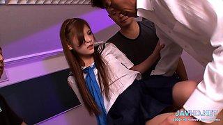 They are so cute  Japan schoolgirls  Vol 38 - JavHD.net
