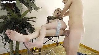 Lexa gets big cock anal
