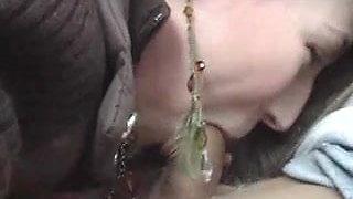 Gochaman - Backseat Cum Swallow - Cum in Mouth 1