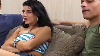 Nikki Loren Ass Reamed By Two Strong Men