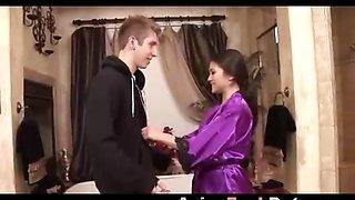 Hot Asian Teen Masseuse and Blows