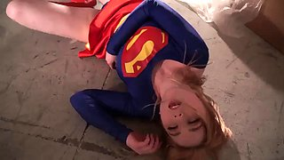 Supergirl forced to fuck