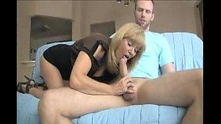 Mature Mom Making NOT son Cum