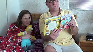 Bedtime story for step daughter