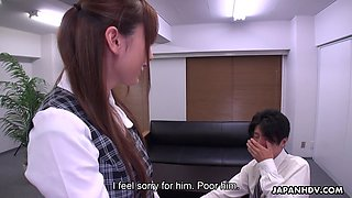 Japanese prank porn video featuring sizzling babe Yui Hatano
