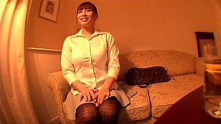Amazing Japanese girl in Crazy HD, Handjob JAV clip