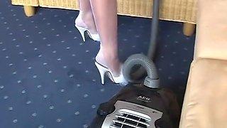Amazing amateur Maid, Fetish xxx clip